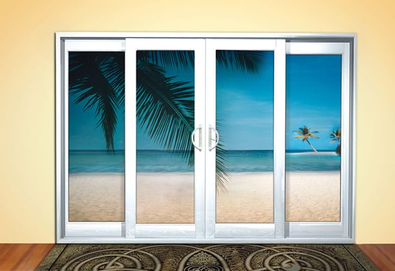 Folding doors vinyl folding doors exterior for Window manufacturers vancouver