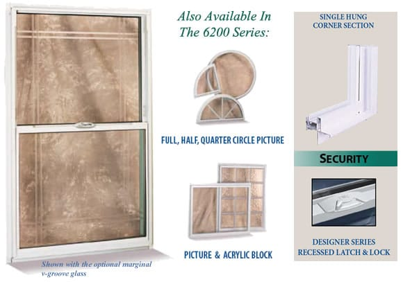 6200 Series Aluminum Windows - International Window Corporation