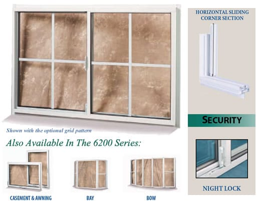 6200 Series Aluminum Windows International Window