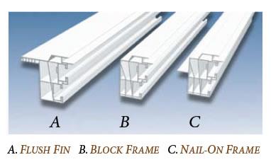 Vinyl Window Frame Profiles International Window Corporation