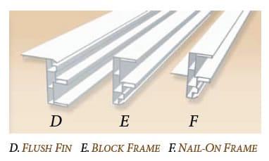 Vinyl Window Frame Profiles